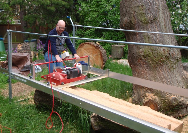 Bandsaw Mill For Sale >> Anybody Using A Swing Blade Portable Mill Woodland Forum At Permies