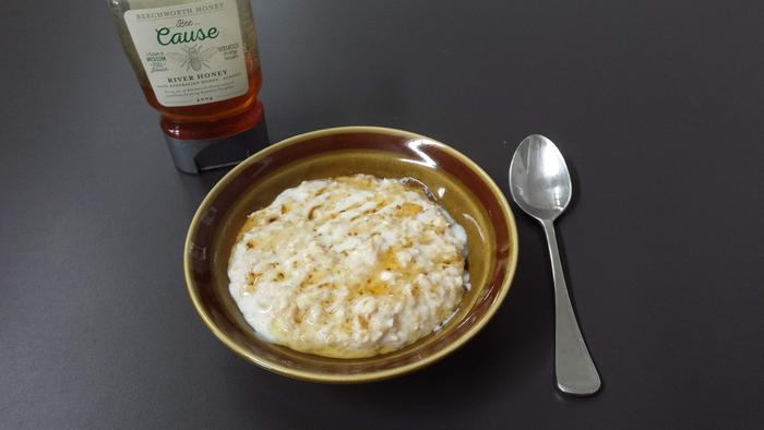1/2 cup oats