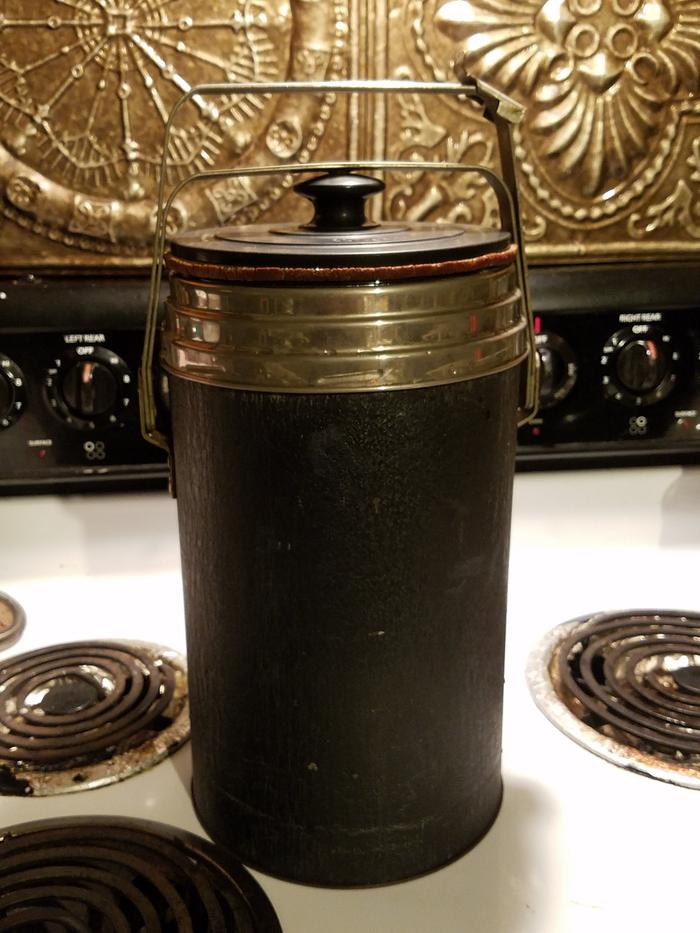 old Thermos model 820 vacuum insulated food jar