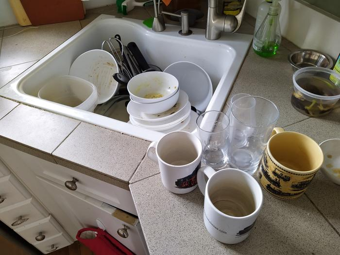 Sink o dishes