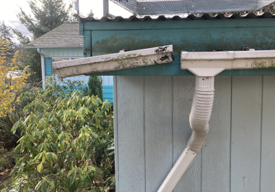 Separated Gutter