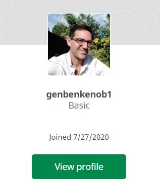 my geocacher profile, to match up with the geocache