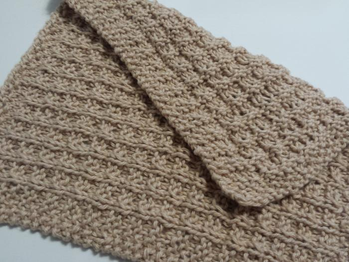 Finished Waffle-Knit Facecloth (washcloth) - soft and absorbent