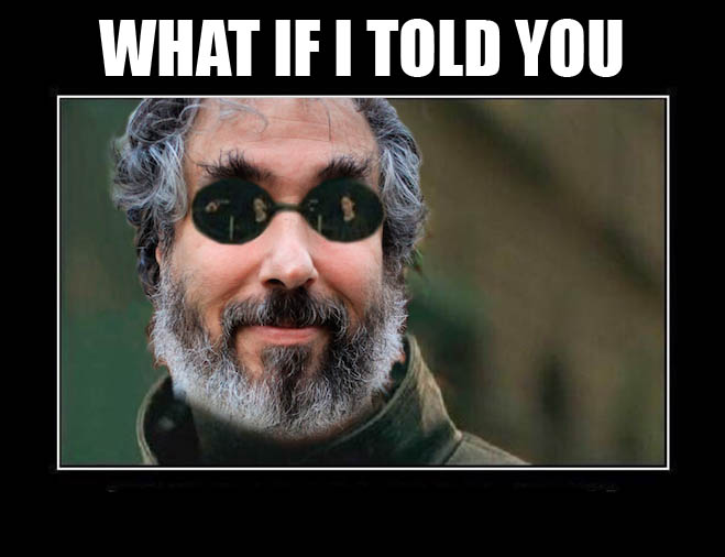 What if I told you meme, permaculture paul wheaton