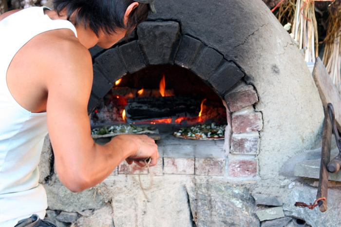 7 pizza oven