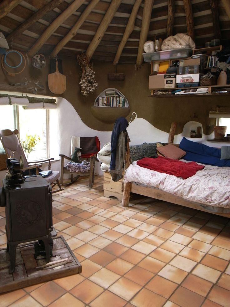 Underground Tinyhouse Roof Shape, Mimicking a Yurt ...