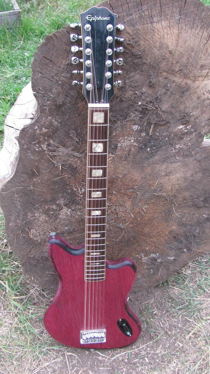 12-string from slavaged purpleheart