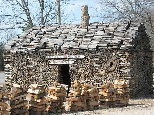 Stacking firewood woodland forum at permies House piles