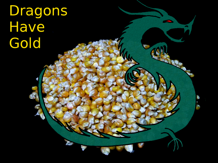 Dragons have gold