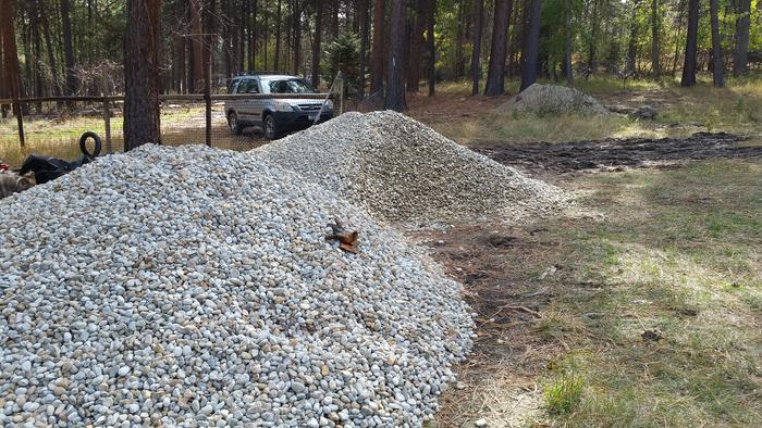 Gravel for Rubble Trench Foundation