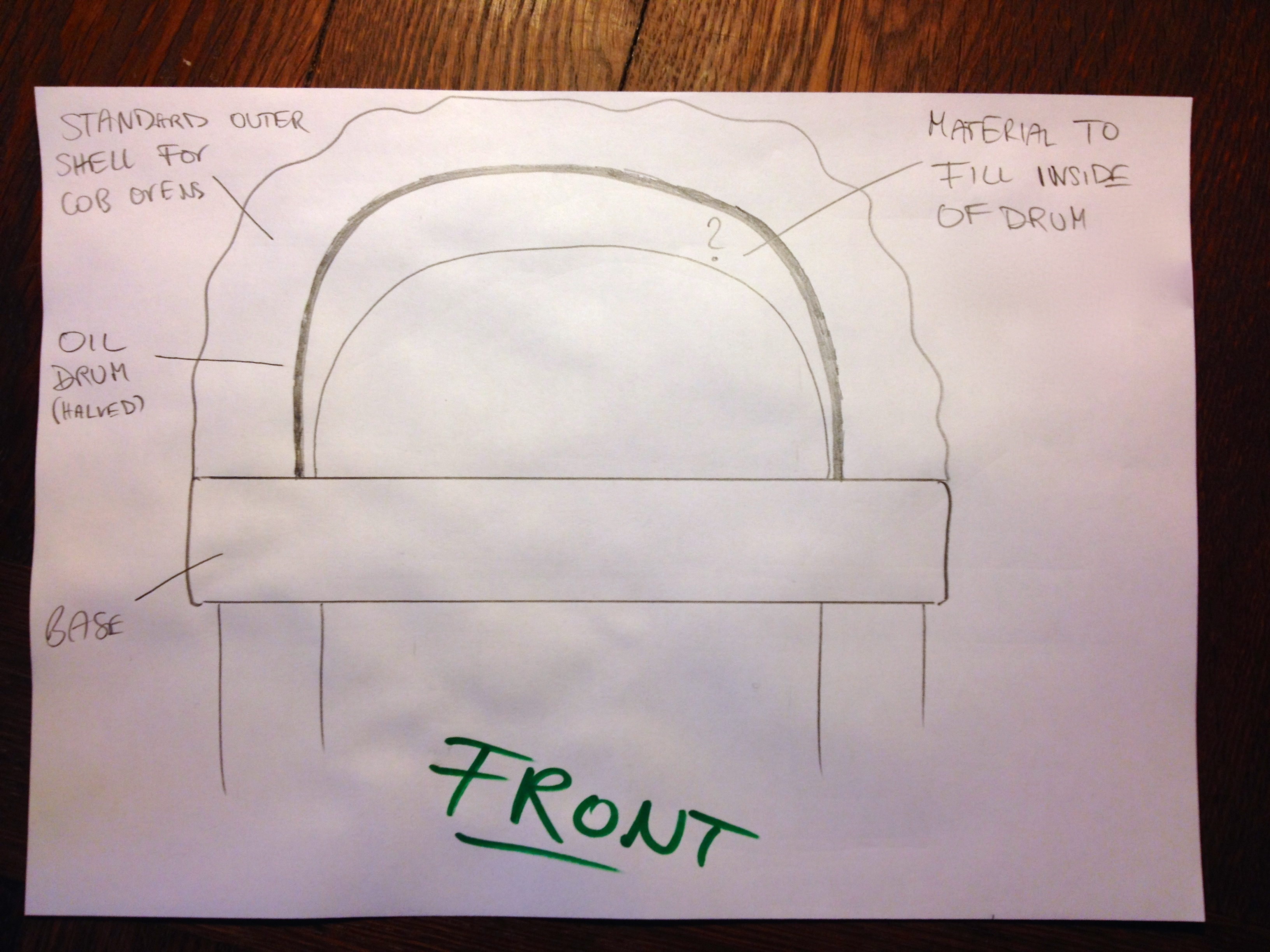 Another Guy And A Pizza Cob Oven Rocket Stoves Forum At