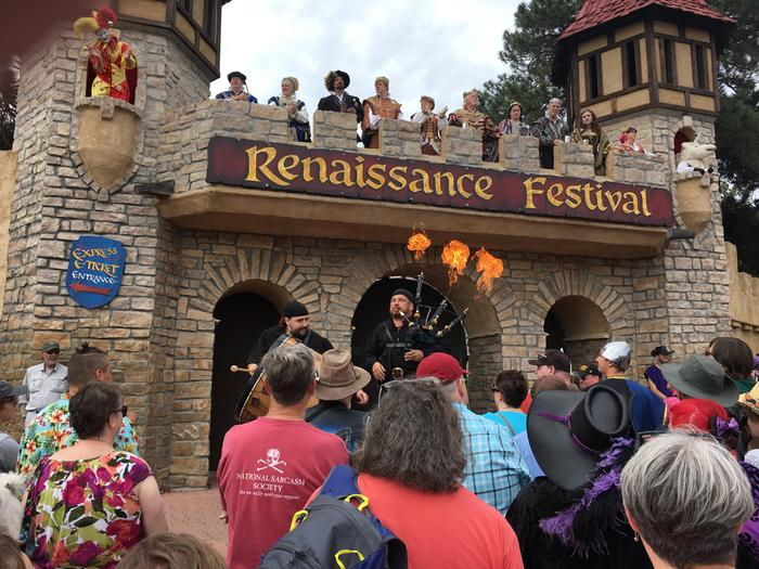 Renaissance Festival in Colorado