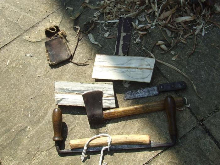 tools for roughing out wooden spoon