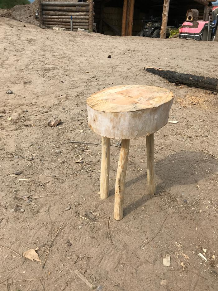 Completed stool